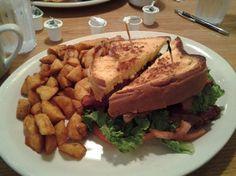 Brioche Eggscellent BLT at Perkins Restaurant: Yum!