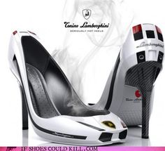 Shoes to wear to the F-1 races : )