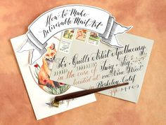 How to Make Deliverable Mail Art | The Postman's Knock. Great post. Very informative!