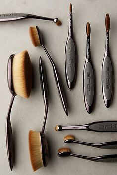 Select stores and online. Opening the first store in Portland Oregon the week of March 7th! Artis Ten Brush Set #anthropologie