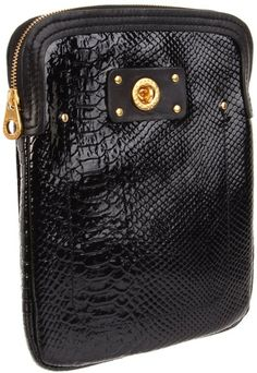 Marc By Marc Jacobs Python Shine Tablet Case Laptop Bag