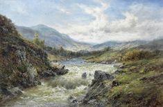 Alfred de Bréanski, Snr - Falls of the Tay