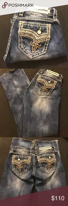 Rock Revival 27/32. Flawless condition accept what's pictured. Rock Revival Jeans Boot Cut