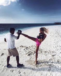 Tatjana Catic (@tatjanamariposa) - Fitness on the Beach