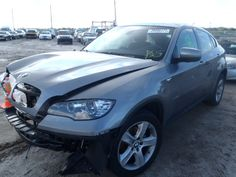 2011 BMW X6   THIS IS A SALVAGE REPAIRABLE VEHICLE WITH FRONT END DAMAGE. THE VEHICLE STARTS AMD IS AWD. For more information and immediate assistance, please call +1-718-991-8888