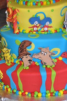 Seuss Cake Details