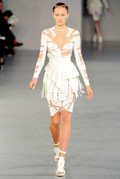 David Koma | Spring 2012 Ready-to-Wear Collection | Style.com