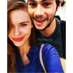 dylan o'brien and holland roden! Life goals, if you know what I mean! Teen Wolf Stydia, Teen Wolf Stiles, Teen Wolf Cast, Dylan O'brien, Teen Wolf Dylan, Charlie Carver, Dylan Sprayberry, Daniel Sharman, Cody Christian