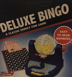 Deluxe Bingo Set Family Classic Fun Game With 6 Items-75Balls,34Cards | eBay