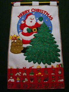 The Christmas Window - Advent Calendars, felt wall hangings