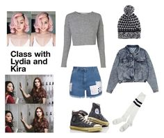 """Class with Lydia and kira"" by officialbrittanyhayes ❤ liked on Polyvore featuring STELLA McCARTNEY, Converse and House of Holland"