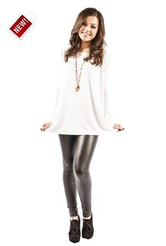 perfect piko top (white) from the RUSTIC mule