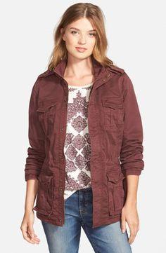 Women's Lucky Brand Military Jacket,