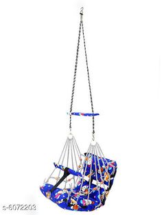 Others Baby Swing  Material: Cotton  Size (L x W x H ): 35 in x 35 in x 6 in   Description: It Has 1 Piece Of Hanging Swing Chair Country of Origin: India Sizes Available: Free Size *Proof of Safe Delivery! Click to know on Safety Standards of Delivery Partners- https://ltl.sh/y_nZrAV3  Catalog Rating: ★4.2 (5650)  Catalog Name: Unique Hanging Swing Chair Vol 2 CatalogID_922730 C63-SC1325 Code: 984-6072203-