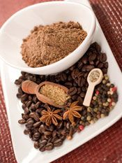 Coffee spice rub for meat  http://gildedfork.com/aromatic-spiced-coffee-rub-for-meat/