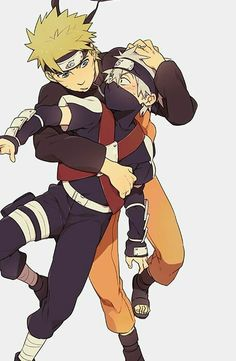 Naruto and Kakashi ♡♡♡