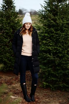 Winter Outfits // Hunter Boots // Winter Style