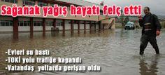 Devriye Haber : Şiddetli Yağış, Yurt Genelinde Hayatı Felç Etti