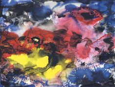 Untitled. 1992. Watercolour and Indian ink on paper. Gerhard Richter.