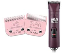Andis AGC2 UltraEdge Universal Supper 2-Speed Professional Pet, Dog and Animal Clipper - 3,400/4,400 Strokes Per Minute With Free 7F and 10 Blades * For more information, visit image link. (This is an Amazon affiliate link)