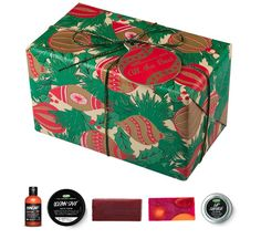 A traditional gift full of practical and refreshing products for folks on the go at Christmas. £25.95