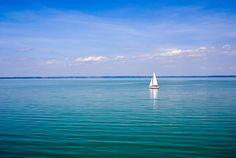 Lake Balaton-Hungary Exotic Places, Better Day, Summer Photos, Us Travel, Hungary, Tao, Budapest, Trip Planning, Sailing