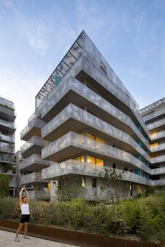 Philippe Dubus apartments zac seguin rives de seine . lots b3b b3c . boulogne-billancourt