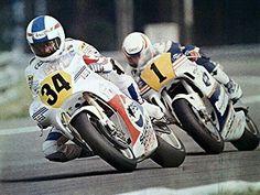 Kevin Schwantz and Eddie Lawson in the 1989 season