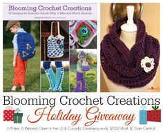 Blooming Crochet Creations - win this book in a Moogly giveaway!