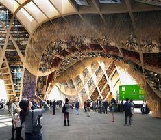 French Pavilion for Milan Expo Designed to Grow Fresh Food - My Modern Metropolis