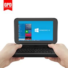 "Gpd勝利ゲームパッドラップトップノートブック、タブレットpc 5.5 ""携帯ゲームコンソールビデオゲームプレーヤーx7-Z8700 windows bluetooth 4.1 4ギガバイト/64ギガバイト"