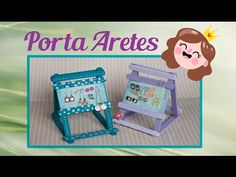 Porta Aretes súper fácil y para regalar a Mamá - YouTube