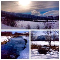 Det går mot vår ved Ustedalsfjorden Mountains, Nature, Travel, Naturaleza, Viajes, Trips, Off Grid, Natural, Mother Nature