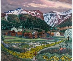 Nikolai Astrup: the lost artist of Norway | Art and design | The Guardian