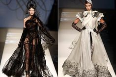Jean Paul Gaultier's spring-summer 2009 haute couture show in Paris. Photo: Reuters
