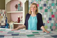 Charm Pack Cherry - Shortcut Quilt Series - Fat Quarter Shop #tutorial #patchwork #quilting