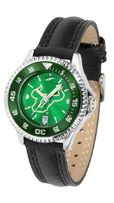 South Florida Bulls- University Of Competitor Anochrome- Poly/leather Band W/ Colored Bezel - Ladies by Sports Memorabilia. $78.73. Makes a Great Gift!. South Florida Bulls- University Of Competitor Anochrome- Poly/leather Band W/ Colored Bezel - Ladies