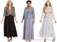 Formal Plus Size Wedding Guest Dresses with Laces