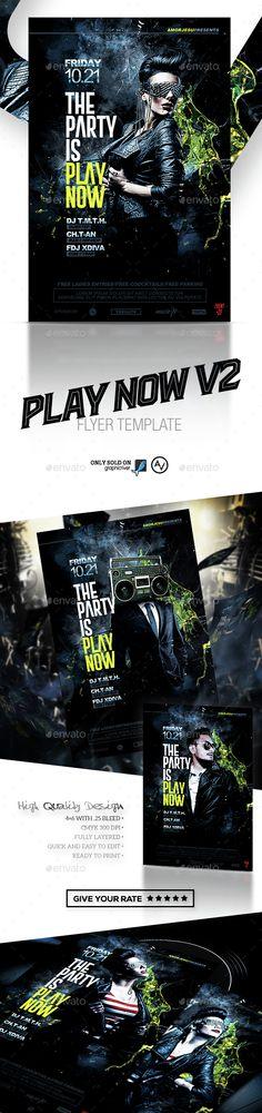 Dj Guest #Flyer - Clubs \ Parties Events Flyer Pinterest - benefit flyer templates