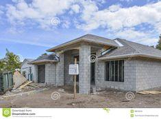 Cinder Block House, Cinder Blocks, Tropical House Design, Tropical Houses,  Build Your Own House, Concrete Houses, Concrete Blocks, Small House Plans,  ...