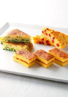 Japanese omelet (Photo by Katsumi Oyama)