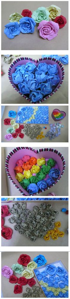 Diy crafts hearts and roses