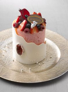 """Cafe Pouchkine Cake - """"Who created me, then He has shown me the way: And He Who gives me to eat and gives me to drink."""" Surah Şuara, 78 - 79"""