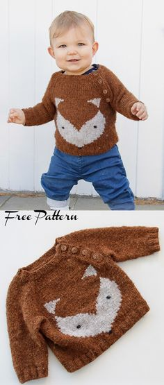 Mar 2020 - New Baby Knitting Patterns Free for To make things easy we have compiled all the latest free knitting patterns for babies and toddlers in the one post, find everything you need easily! Boys Knitting Patterns Free, Baby Cardigan Knitting Pattern Free, Baby Sweater Patterns, Knit Baby Sweaters, Baby Clothes Patterns, Knitting For Kids, Easy Knitting, Baby Patterns, Baby Knits