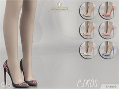 Sims 4 CC's - The Best: Madlen Ciros Shoes