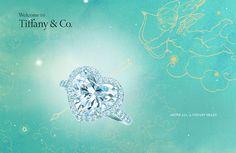 A Tiffany heart Tiffany Rings, Tiffany Jewelry, Tiffany And Co, Tiffany Blue, Heart Shaped Diamond Ring, Heart Ring, Diamond Rings, Best Valentine Gift, Valentines
