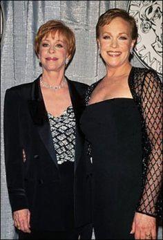 Carol Burnett & Julie Andrews