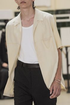 """christos:  """" Detail at Lemaire SS17  """""""