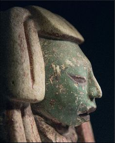 Head of a dignitary. Maya Culture, Guatemala, 600 / 900 AD