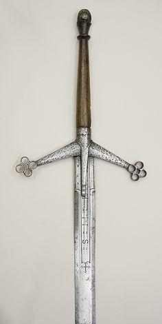 the claidheamh mòr or great sword - Scottish Claymore, circa 1610-1620 (The Metropolitan Museum of Art, New York)